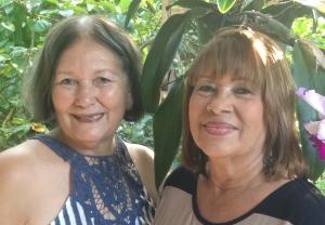 Noelia y mami.