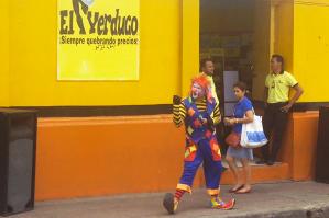 Payaso en León