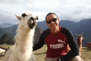 Angel en Machu Picchu
