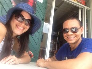 Yomaris y Angel en St. Croix.