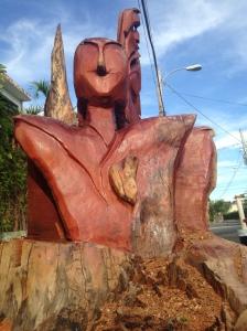 Escultura casa Diplo.
