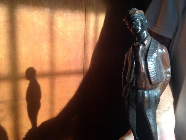 Maqueta escultura de 'Diplo'.